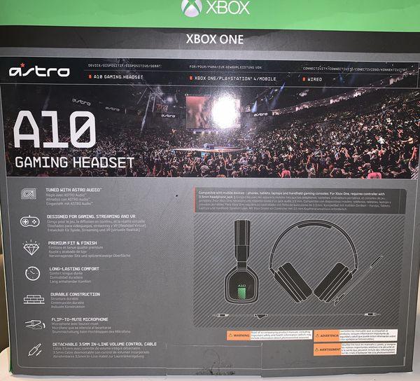 Xbox One Astro A10 Headphones