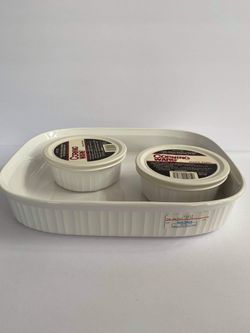 New-Corningware French White for Sale in Midland,  MI