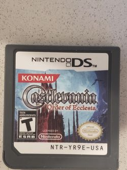 Castlevania: Order of Ecclesia for Nintendo DS for Sale in Columbus,  OH