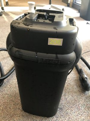 Fluval 206 aquarium canister filter for Sale in Fountain Valley, CA