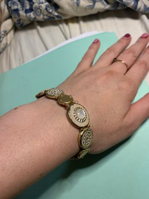 Metallic gold design bracelet for Sale in Fresno, CA