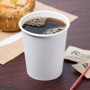 1000 Pack 8 Oz. White Disposable Paper Hot Tea Coffee Cups for Sale in The Bronx, NY