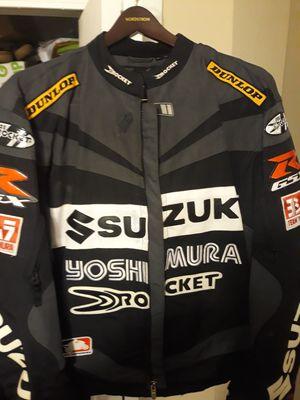 Motorcycle jacket 2xl ....joe rocket w.emblems for Sale in Hudson, FL