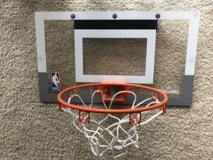 Door hanging basketball hoop with basketball for Sale in Virginia Beach, VA