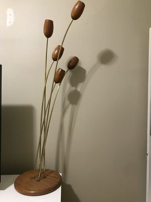 Vintage floor lamp - about 4' tall for Sale in Portland, OR