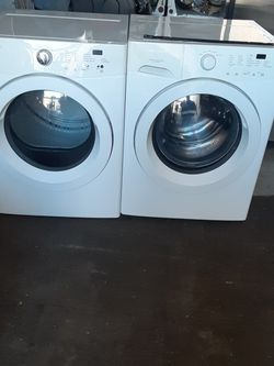 Washer and Dryer Frigidaire electric Dryer Good Condition 3 Months warranty Delivery And Install for Sale in Hayward,  CA