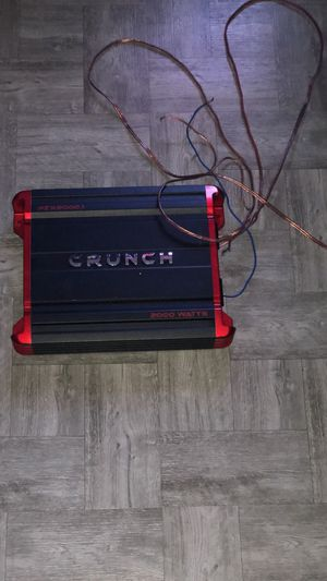 Crunch Amplifier for Sale in The Bronx, NY