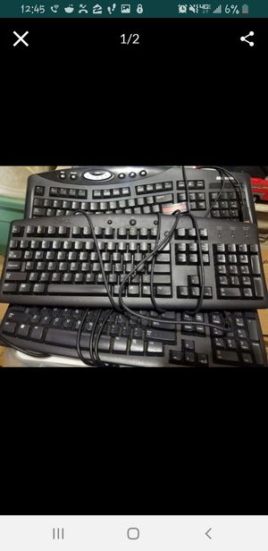Computer keyboards. All work great. for Sale in Detroit, MI