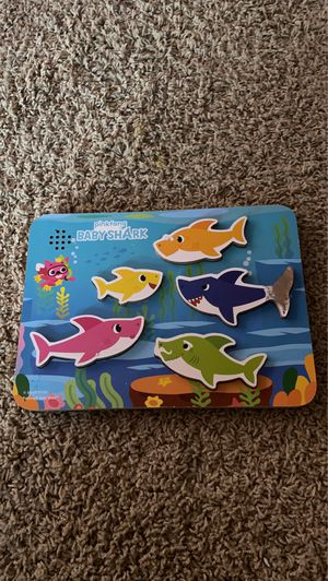 Baby shark puzzle for Sale in Modesto, CA