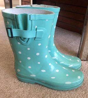 Girls size 5Y rain boots for Sale in Falls Church, VA