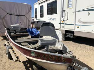 12 ft aluminum boat for Sale in Littleton, CO