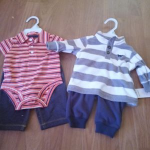 Carter Outfits Both Size : 3M for Sale in Bamberg, SC