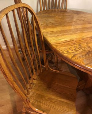 Amish made dining table for Sale in Groveport, OH