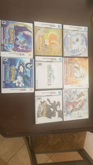 Various games and consoles - pokemon, ds, 3ds, zelda for Sale in Arlington, TX