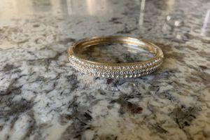 Gold Plated Proxy Diamond Bracelet for Sale in Fresno, CA