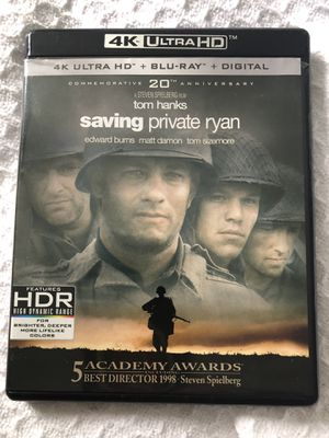 DVD - Saving Private Ryan (4 K tv only) for Sale in Kissimmee, FL