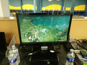 Acer P224w widescreen gaming monitor with HDMI DVI and PC ports for Sale in Washington, DC