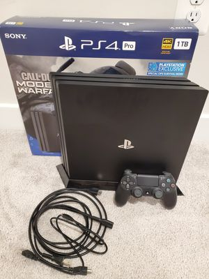 PS4 PRO for Sale in Ijamsville, MD