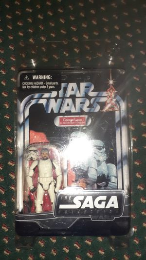 GEORGE LUCAS in Storm Trooper disguise action figure for Sale in Rosemead, CA