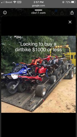 Dirtbikes for Sale in Salisbury, NC