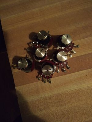Marshall knobs and potentiometers 83 for Sale in Las Vegas, NV
