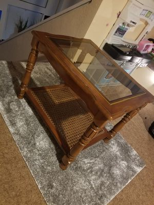 Glass table for Sale in Littleton, CO