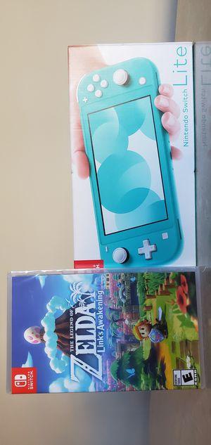 *BRAND NEW* Nintendo Switch Lite with Zelda Link's Awakening for Sale in Fairfax, VA