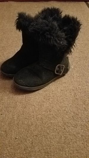 Girls size 11 black boots for Sale in Schenectady, NY