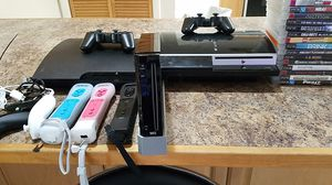 Video Game Bundle PS3, Wii ,and games for Sale in Hollywood, FL