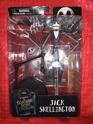 The Nightmare Before Christmas Jack Skellington Action Figure for Sale in Marietta, GA