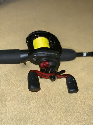 Baitcaster fishing rod and reel for Sale in Highland, CA