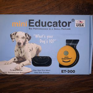 Mini Educator ET-300 1/2 Mile Remote Dog Trainer for Sale in Tomball, TX
