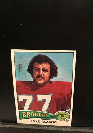 1975 Lyle Alzado Denver Broncos Topps Football card for Sale in Grand Rapids, MI