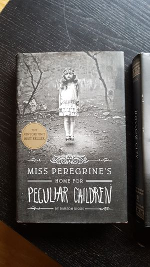 Miss peregrine's home for peculiar children. All 3 books. By Ransom Riggs. for Sale in Tacoma, WA