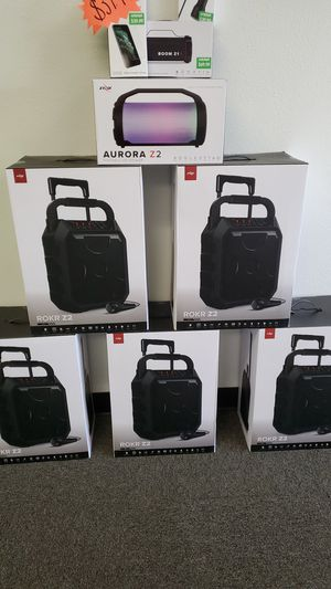 Rokr Z2 Speakers and Aurora Z2 Speakers @CRICKET for Sale in Spring Valley, CA