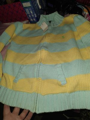 Unisex Cardigan Ralph Lauren knit sweater 8T new with tags for Sale in Los Angeles, CA