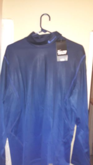 Mens xl blue nike pro combat shirt for Sale in Tulsa, OK