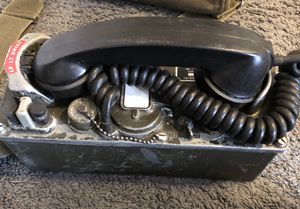 Used, Military Field Phones With Wire Reel for Sale for sale  Brooklyn, NY