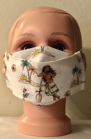 Disney Moana Kid 3D Face Mask for Sale in San Jose, CA