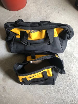 "Dewalt bag. 1 contractor. 1. 12 "" for Sale in SeaTac, WA"