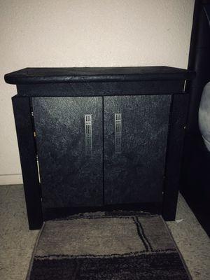 Black & Grey Nightstand for Sale in Modesto, CA