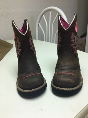 Ariat little girl boots for Sale in Fort Worth, TX