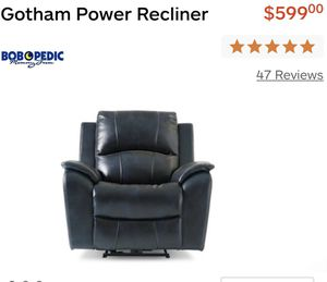 Bobs furniture recliner for Sale in Brooklyn, NY
