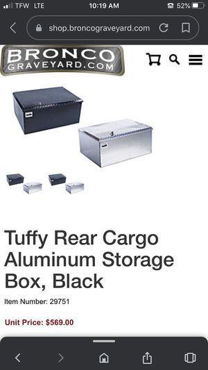 Tuffy security lock box. New costs over 500.00 for Sale in Puyallup, WA