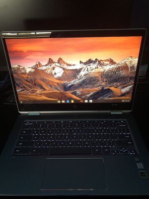 HP 2-In-1 14 Inch Chromebook Touch-Screen Chromebook - Intel Core i3 - 8GB Memory - 64 GB Flash Memory for Sale in St. Petersburg, FL
