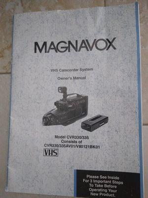 Magnavox VHS Camcorder System & Tripod for Sale in Lakeland, FL