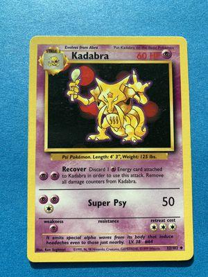 Pokémon Cards: Kadabra [32/102] Base set for Sale in Culver City, CA