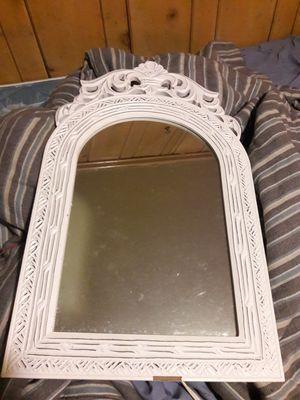 White hanging mirror for Sale in Salt Lake City, UT