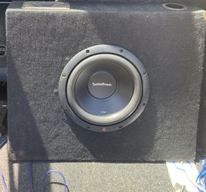 """10"""" Rockford r2 in box for Sale in Clovis, CA"""