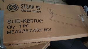 Stand up desk shelf for Sale in Las Vegas, NV
